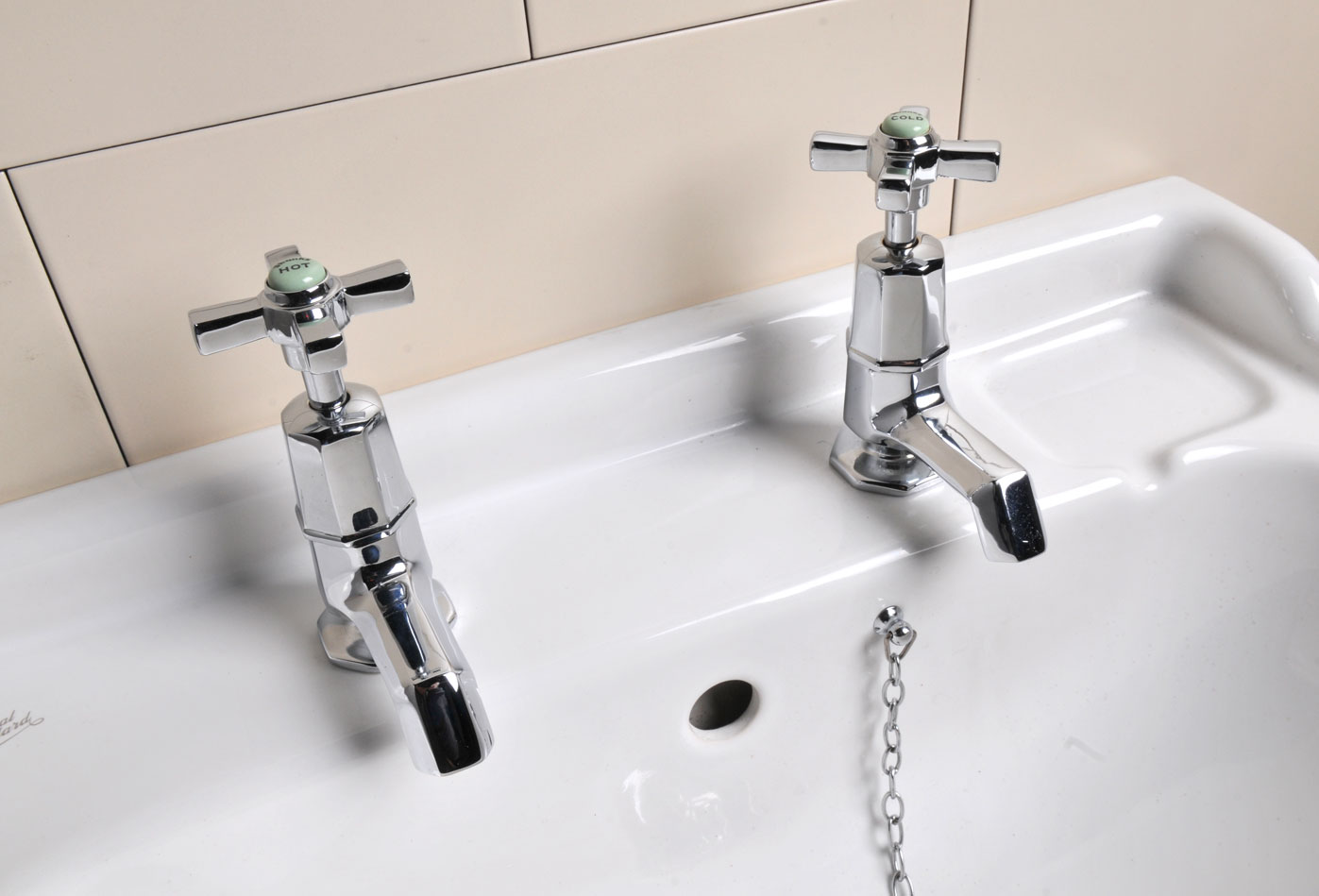 Art Deco Basin Taps (refurbished)