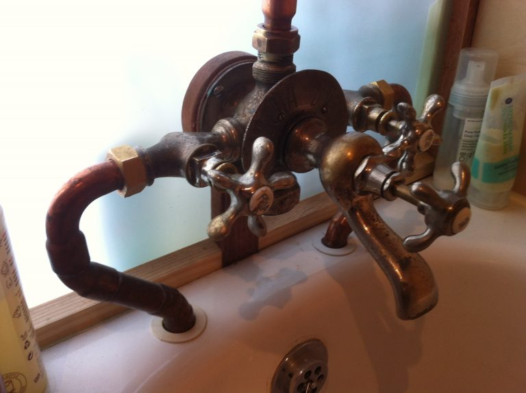 Reclaimed European Tap Combination