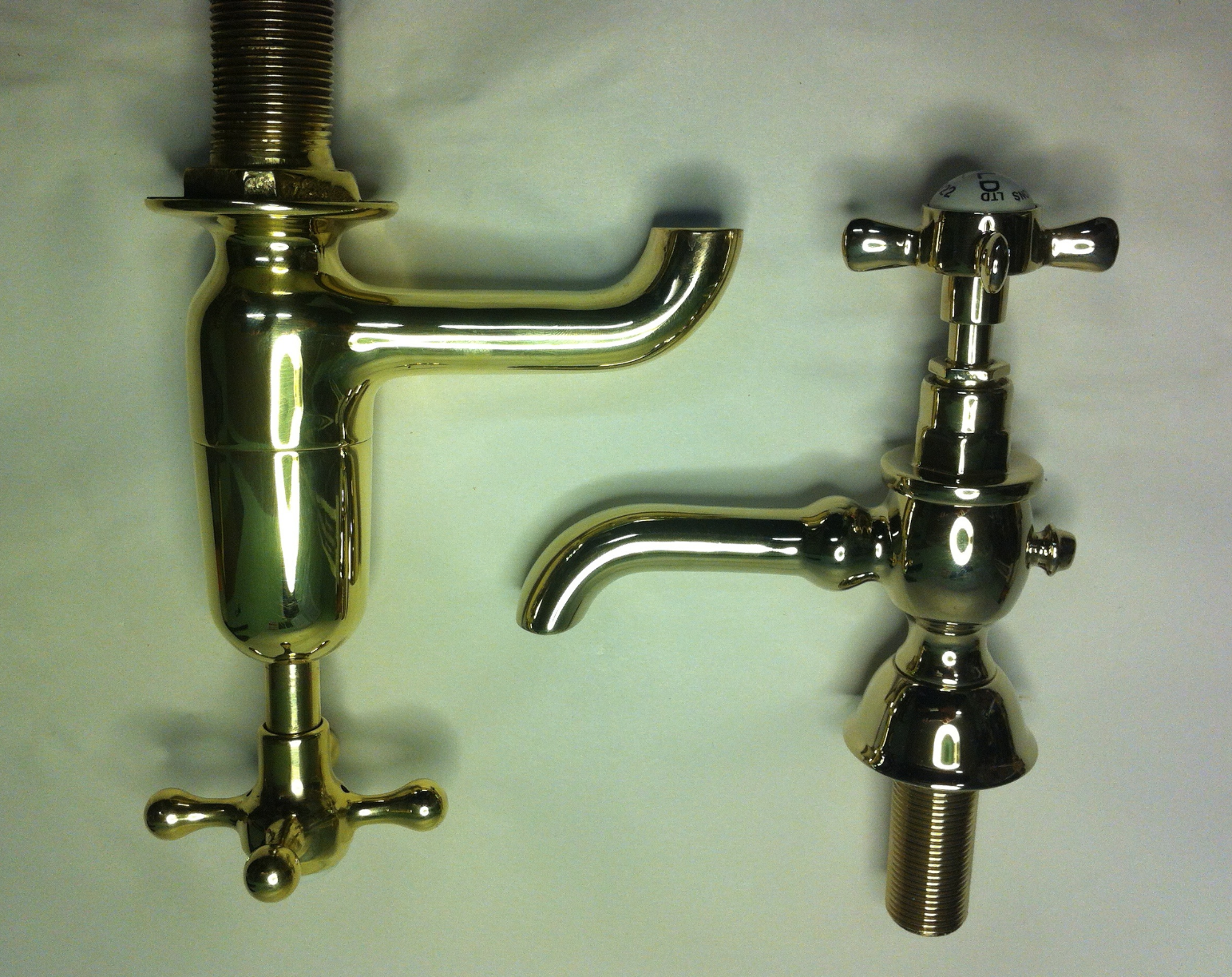 Polished Brass or Gold Plated  - Tap Refurbishment 62ed95f82