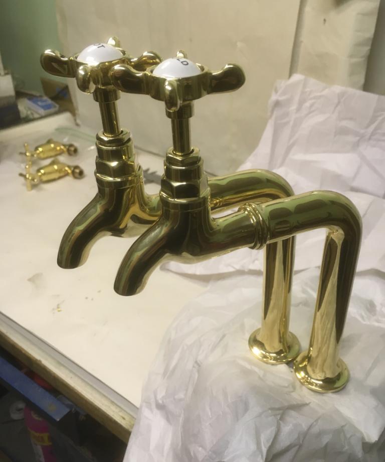 Brass Bib Taps