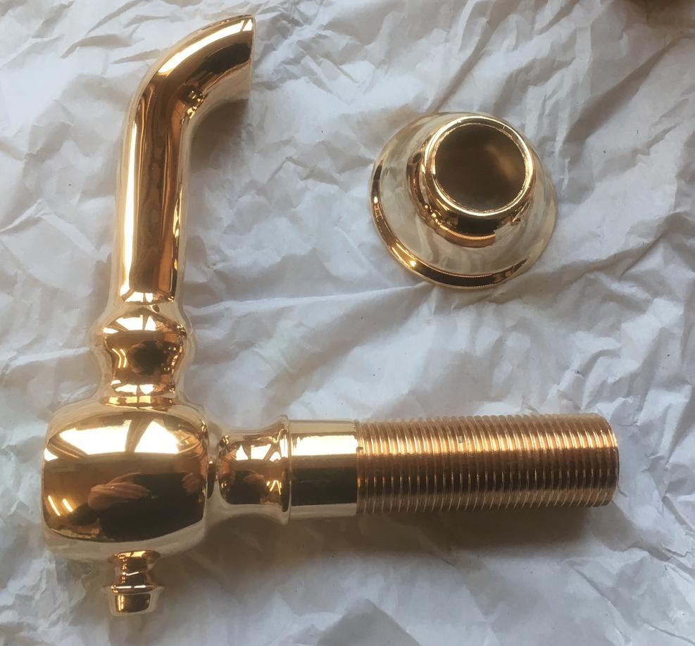Gold plating. Stripped Raw Brass. Polished Brass. a8d2e97f9