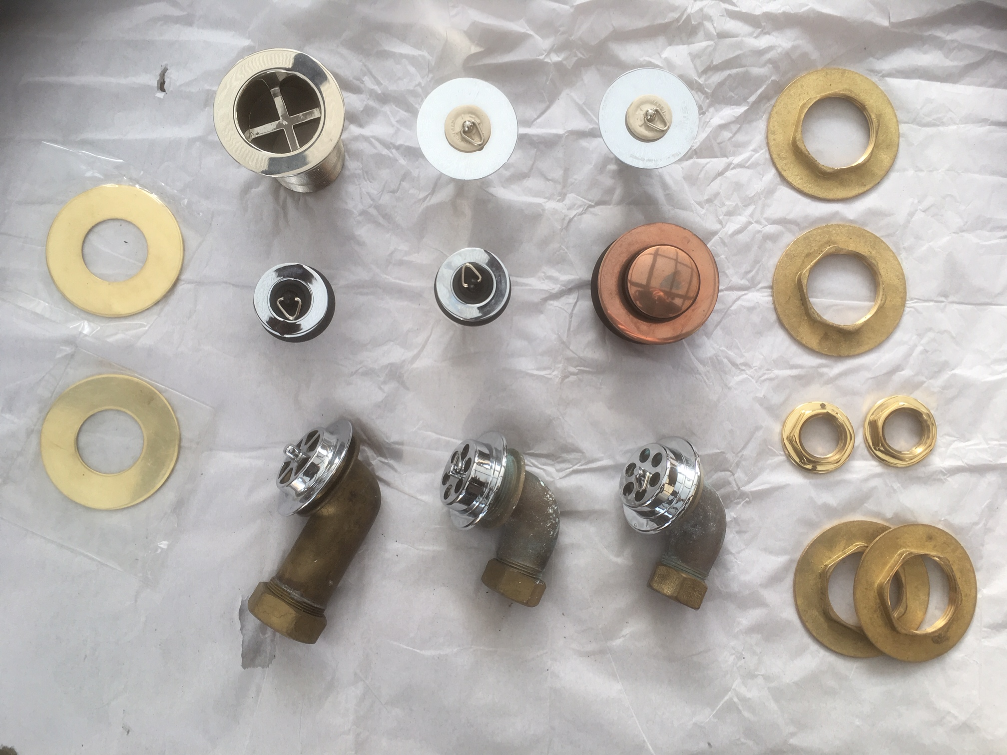 More waste fittings – FOR SALE